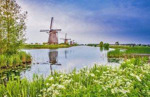 Kinderdijks windmills, Rotterdam