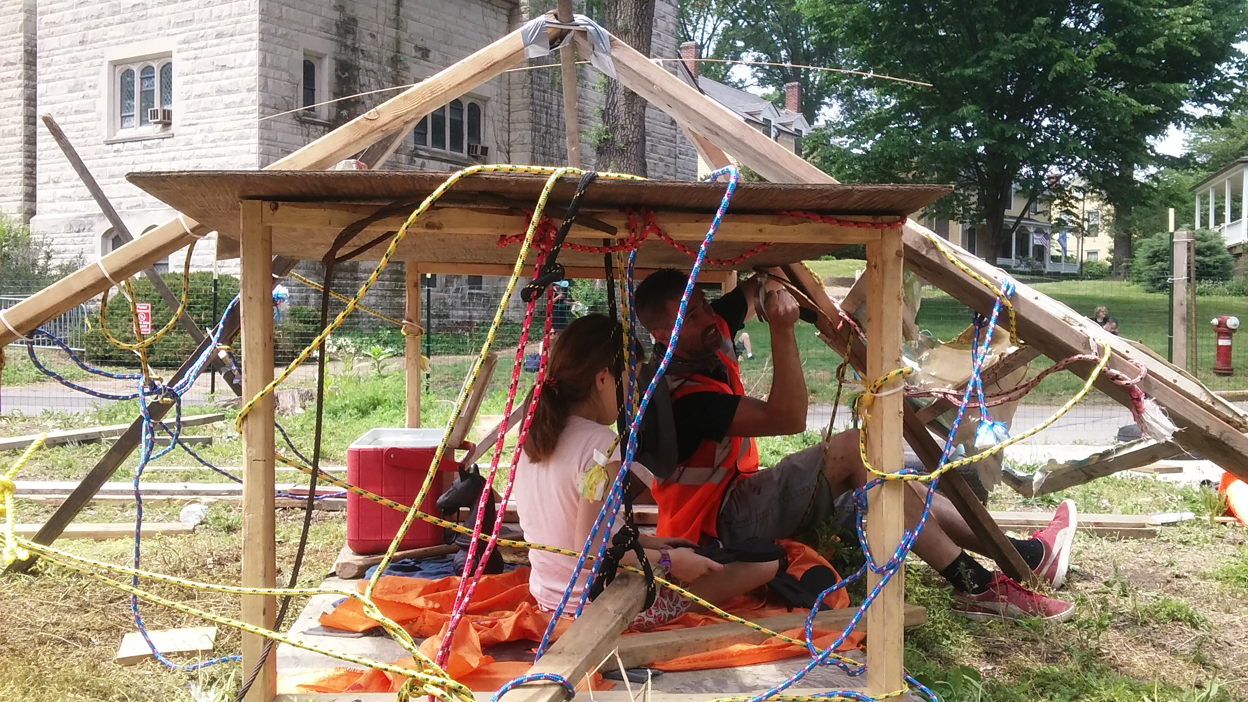 The Junk Playground Of New York City >> How The Us Is Embracing Adventure Playgrounds Child In The City