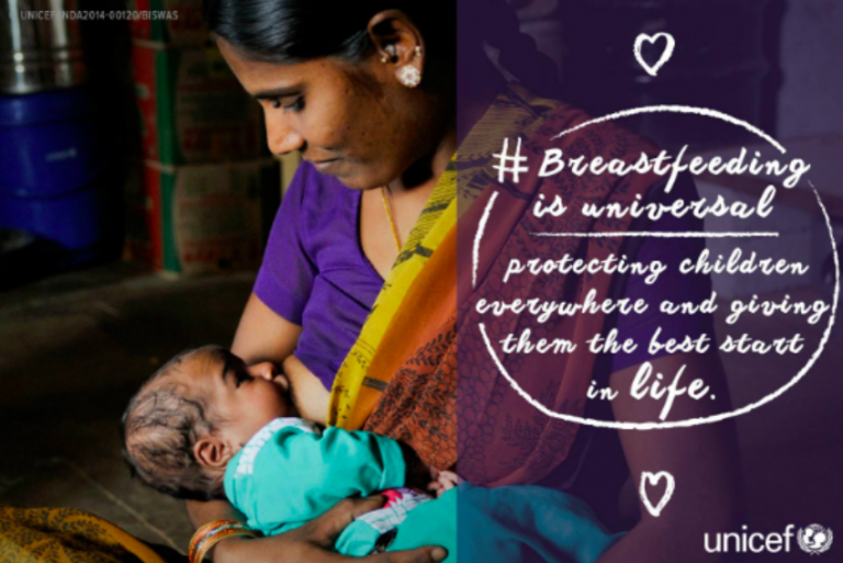breastfeeding nutrition unicef - 768×513