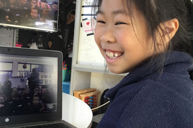 Papakura Normal School children take part in this year's DairyNZ and School Kit CLASS-ified Moostery Challenge.