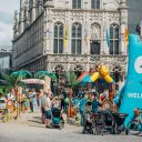 Beach in the city for families (courtesy Karen Claes/City of Mechelen)