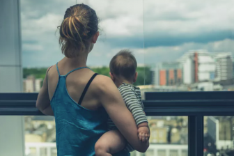Image: More Australian families are raising children in high-rise apartments. from shutterstock.com