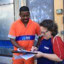 Community survey in Rio de Janeiro. Photo by WRI Brasil