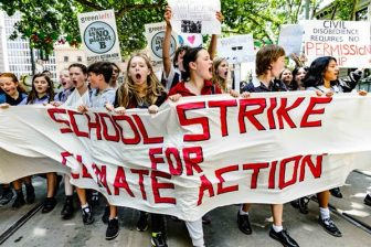 A school strike in Melbourne, Australia.Julian Meehan / School Strike, CC BY-SA.