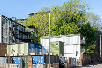 Container homes in Brighton (photo: QED)
